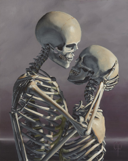 Chris Peters | All My Love | Skeleton Print