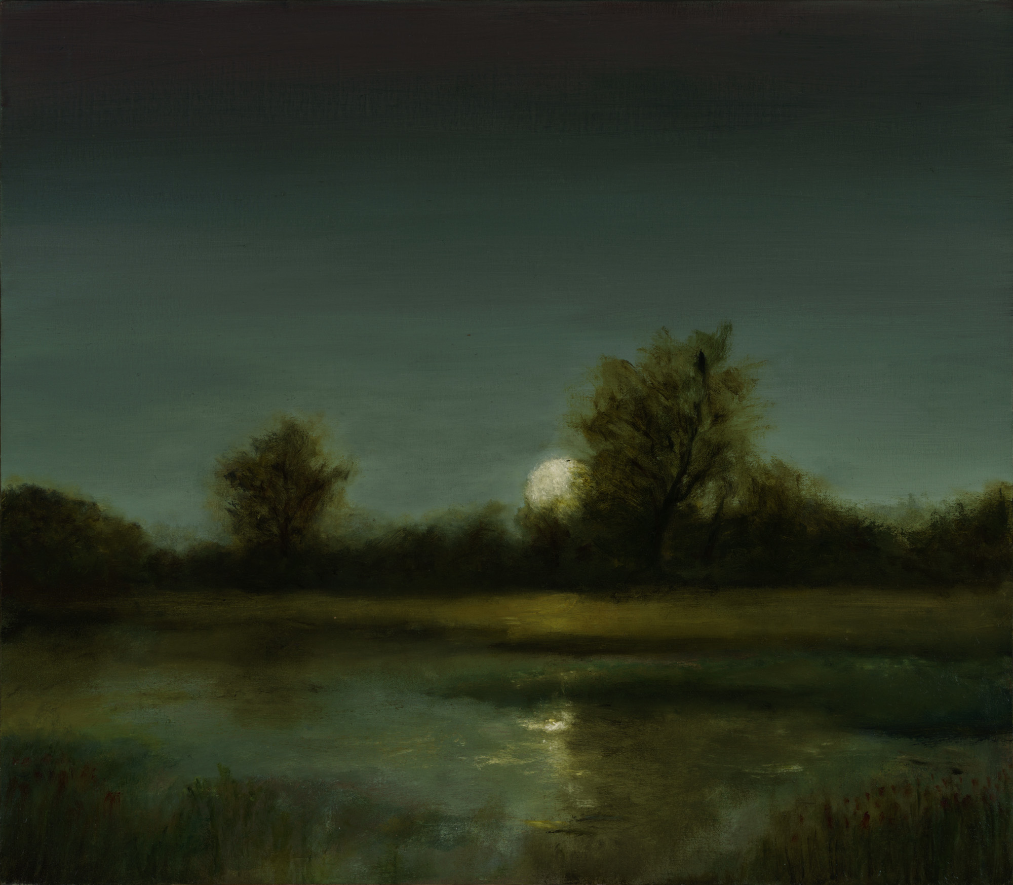 American Tonalism / Moon Over Marsh / Chris Peters