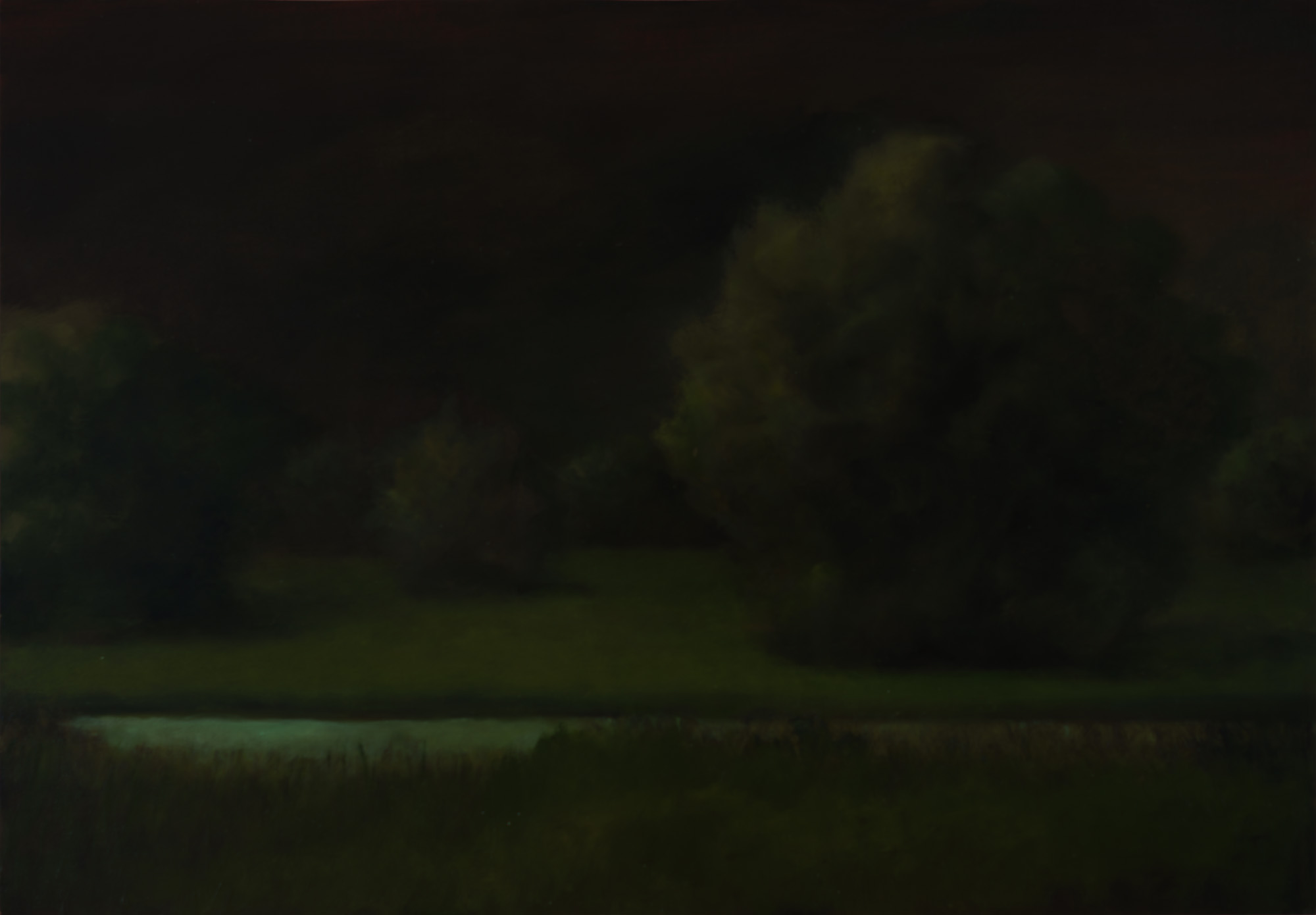 American Tonalism / Night Orchard / Chris Peters