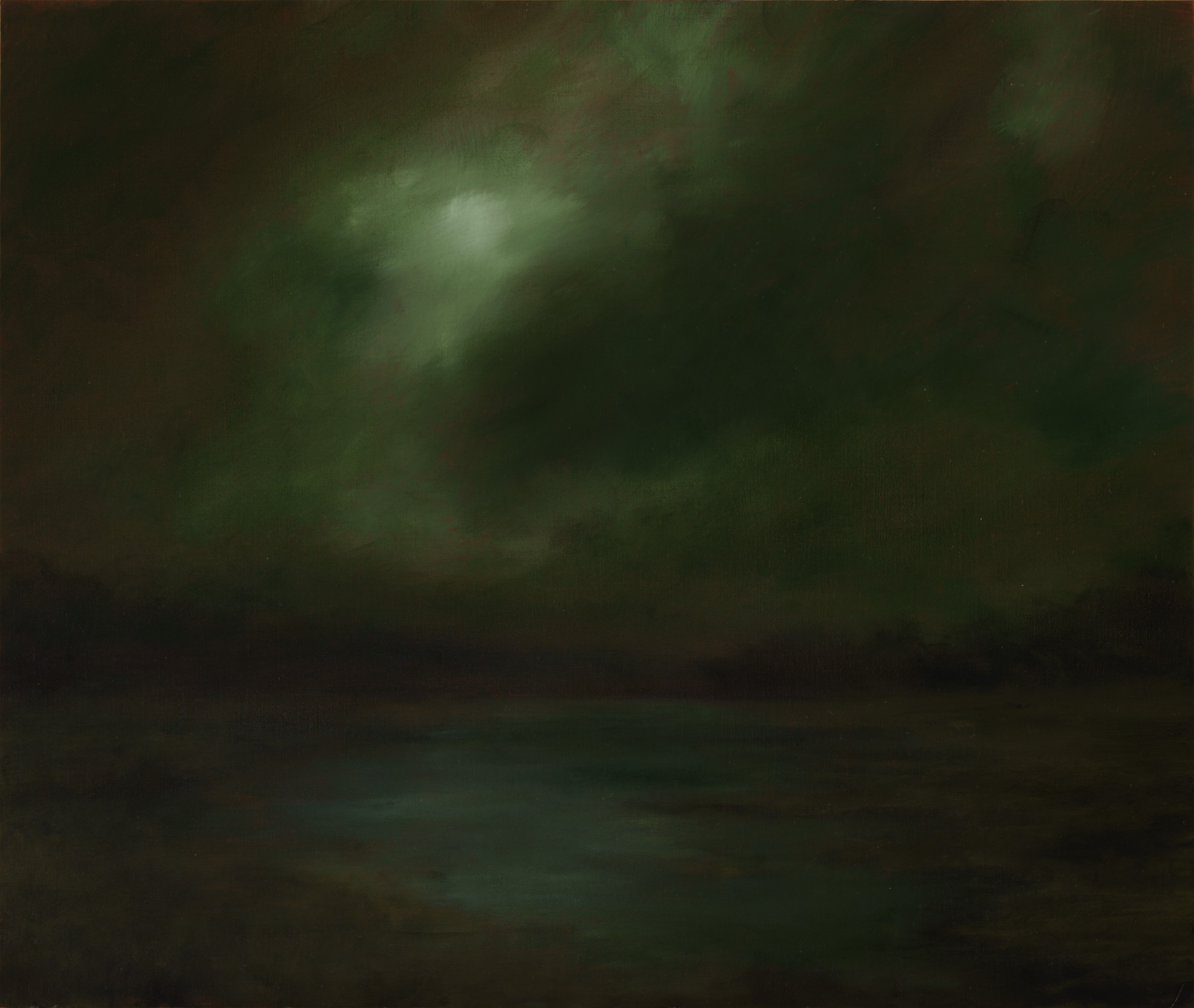 American Tonalism / Stormy Sky Over Marsh / Chris Peters